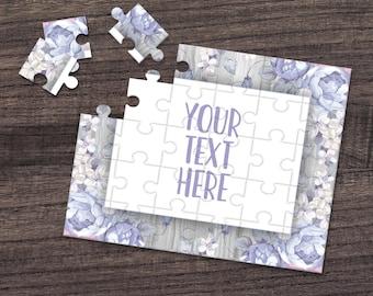 Pregnancy Announcement Announcement Ideas Create Your Own Puzzle Wedding Announcement CYOP0095 Custom Puzzle Personalized Puzzle