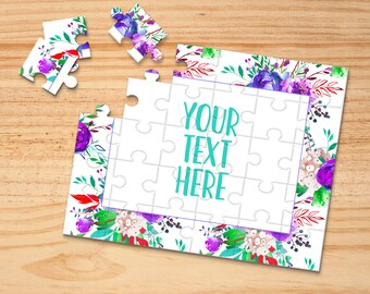 Pregnancy Announcement Custom Puzzle Wedding Announcement CYOP0077 Create Your Own Puzzle Announcement Ideas Personalized Puzzle