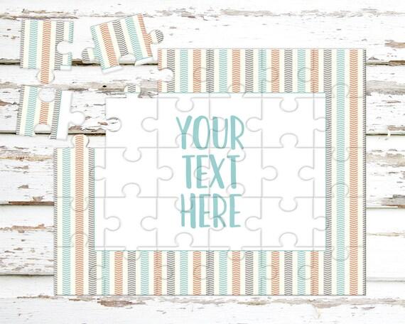 Créez votre propre Puzzle - annonce de la grossesse - Puzzle personnalisé - personnalisé Puzzle - annonce idées - faire-part de mariage - CYOP0249