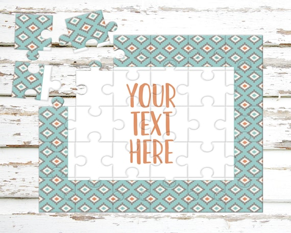 Créez votre propre Puzzle - annonce de la grossesse - Puzzle personnalisé - personnalisé Puzzle - annonce idées - faire-part de mariage - CYOP0245
