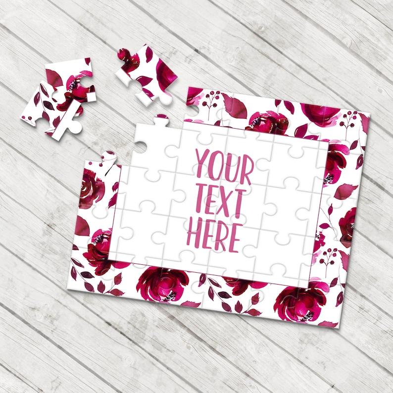 Wedding Announcement Pregnancy Announcement Create Your Own Puzzle Personalized Puzzle Announcement Ideas Custom Puzzle CYOP0087