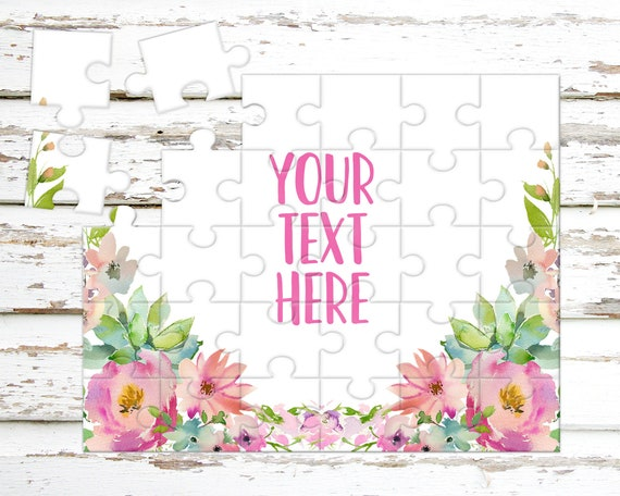 create your own puzzle pregnancy announcement custom etsy