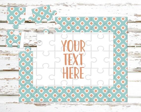 Créez votre propre Puzzle - annonce de la grossesse - Puzzle personnalisé - personnalisé Puzzle - annonce idées - faire-part de mariage - CYOP0244