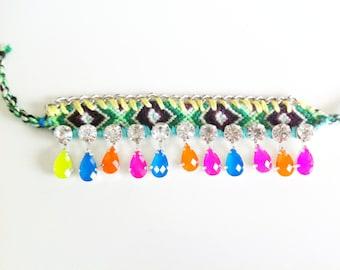 Crystal Friendship Bracelet