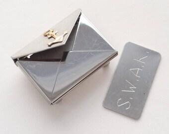 Envelope charm for bracelet anchor swak