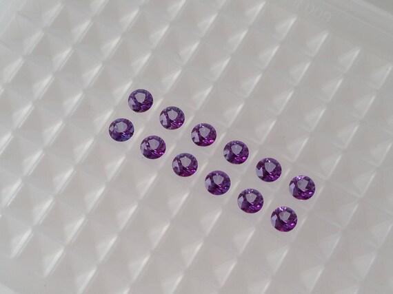 e8cad3170012 Swarovski genuine topaz Violac stones 3mm