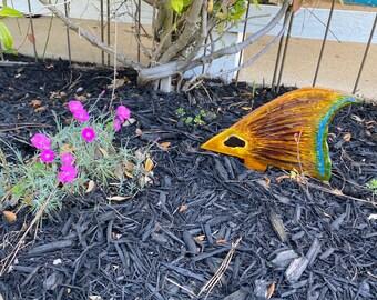 HarryFishArt Redfish Garden Tail /Casting Target