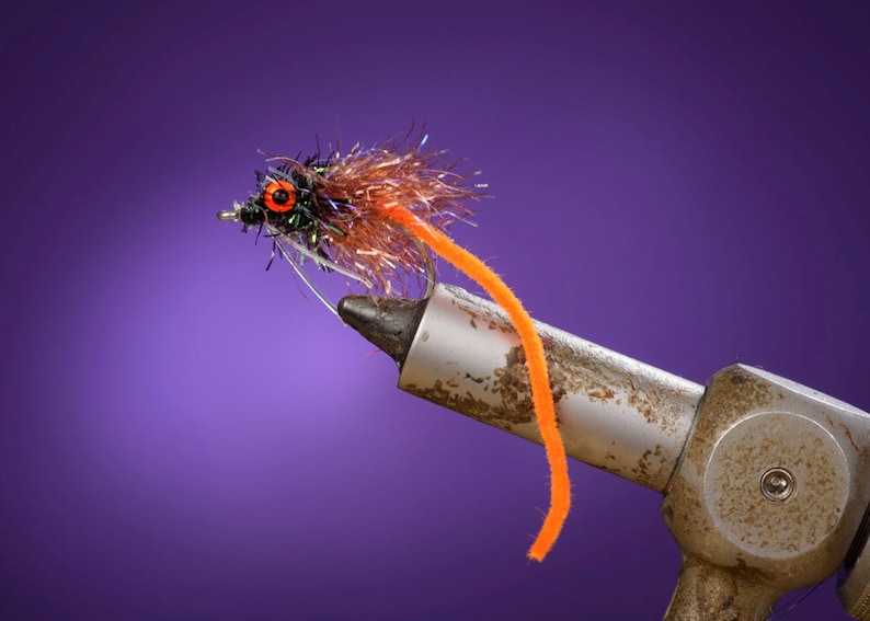 qty. 2 Dirty Harry OBX Fishing Flies image 0