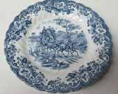 Johnson Brothers England COACHING SCENES 6 1 4 Inch Bread and Butter Plate