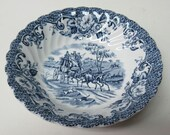 Johnson Brothers England COACHING SCENES Hunting Country 5 1 8 Inch Fruit or Dessert Bowl
