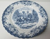 Johnson Brothers England COACHING SCENES 9 7 8 Inch DINNER Plate