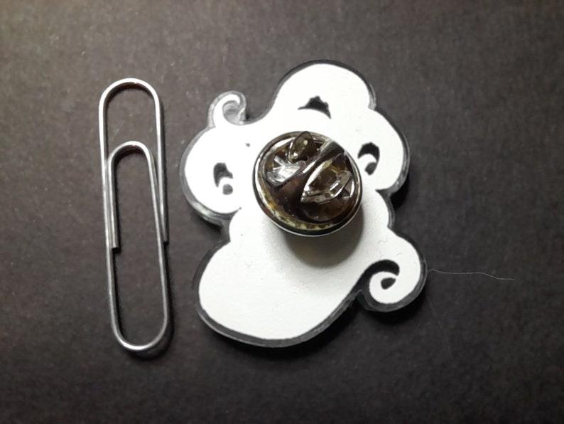Cecaelia Acrylic pin