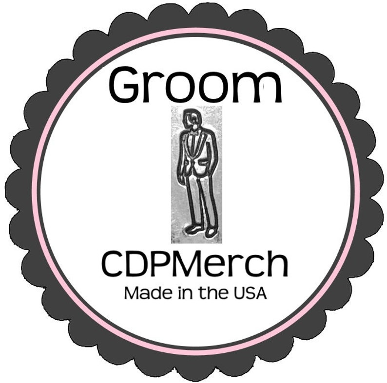 Groom Metal Design Hand Stamp By CDPMerch Jewelers Punch For Stamping And Stamped Jewelry Blanks
