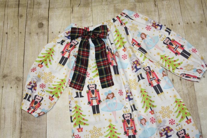 24m 2 18m Nutcracker Christmas Dress Custom Baby girls peasant dress sz 12m toddler 3,4,5,6,7,8 nutcracker outfit girls nutcracker