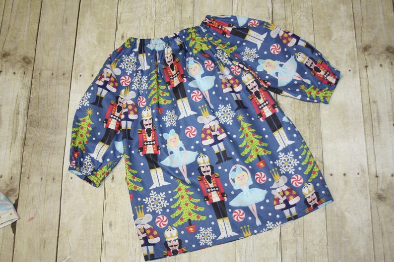 ec4431d78 Sz 4 ready to ship Nutcracker Christmas Dress Custom Baby | Etsy