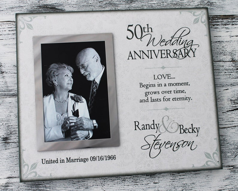 personalized anniversary gift handmade anniversary picture frame CAN-302 Wedding gift anniversary wedding frame Anniversary gift