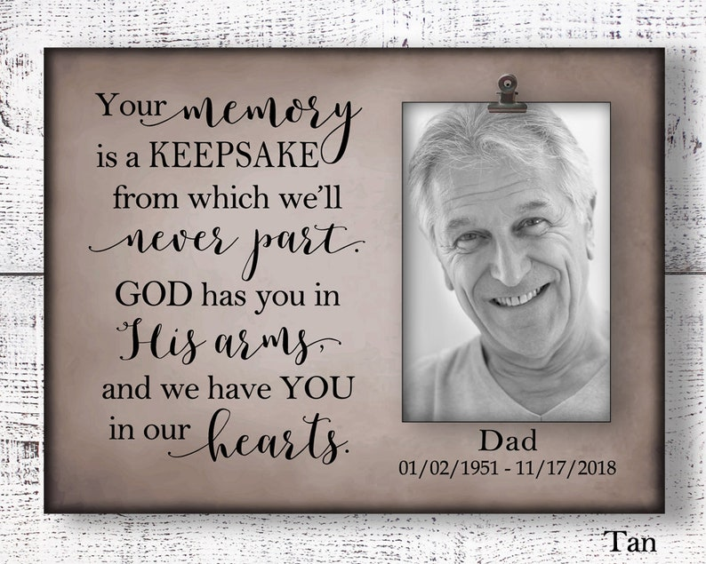 condolence gift sympathy gift memorial sign memorial frame father memorial CAN-205 mother memorial bereavement gift in memory of