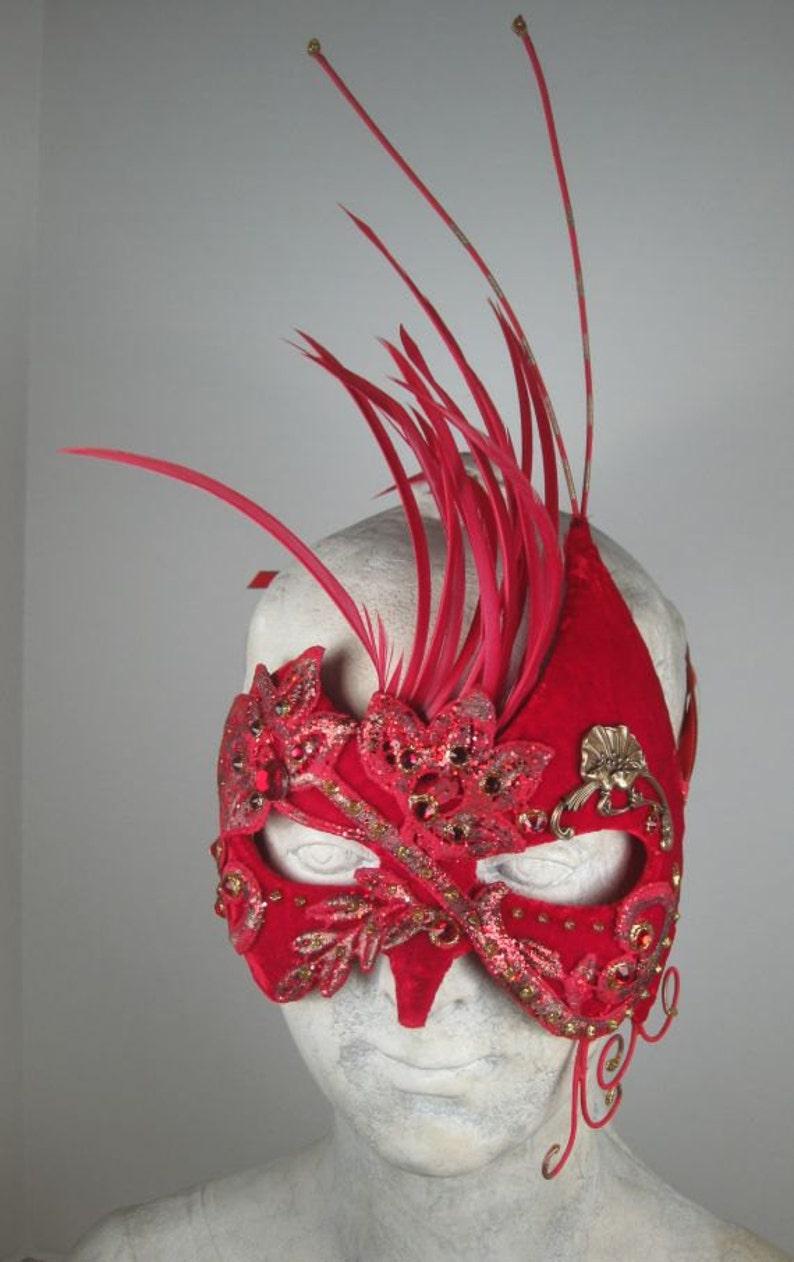 Red Masquerade MaskMasquerade Ball MaskMasqueradeMask MasqueradeHalloween Masquerade MaskMardi Gras Masquerade MaskMasquerade