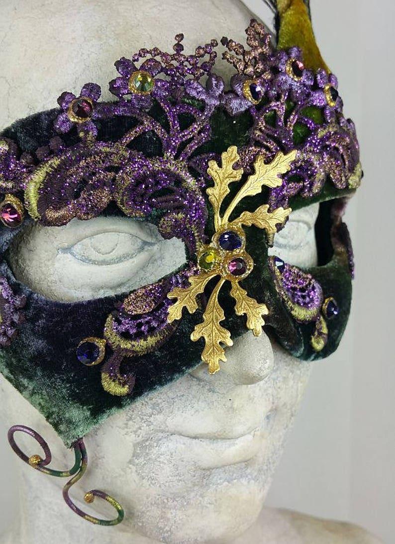 Purple and Green Masquerade MaskMasquerade Mask GreenMasquerade Mask PurpleMasqueradeMask MasqueradeHalloween Masquerade MaskMask