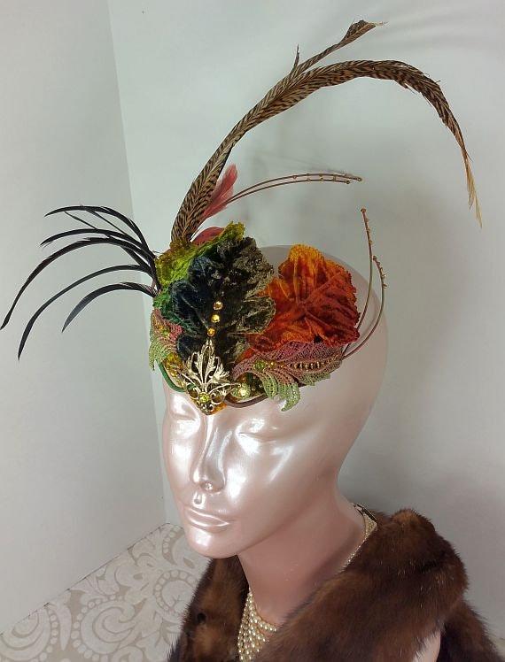 Rust Fascinator Hat  Fascinator Hat  Fascinator  Hat  624e909c2f6