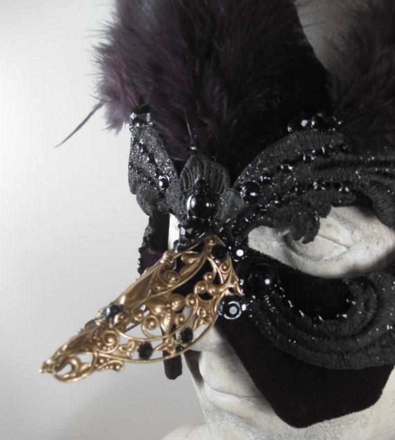 Black Raven Masquerade Maskblack masquerade maskmasquerade ball maskhalloween masquerade maskmardi gras masquerade mask