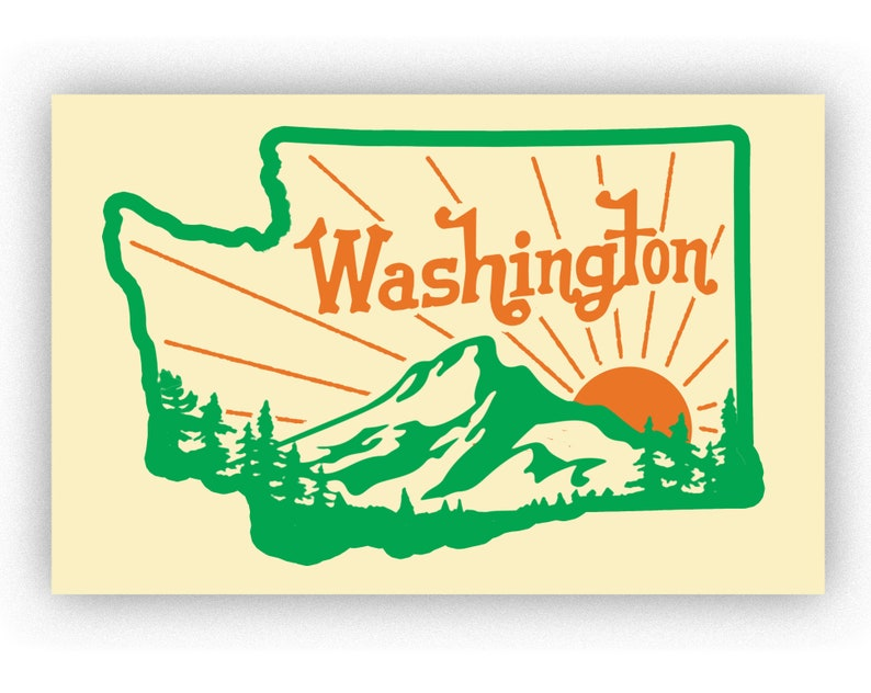 Washington Print image 0