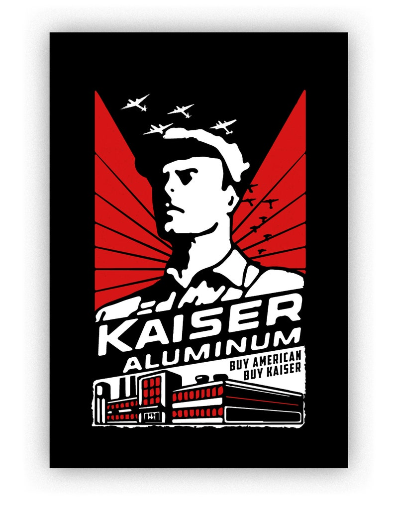 Kaiser handmade screenprint image 0