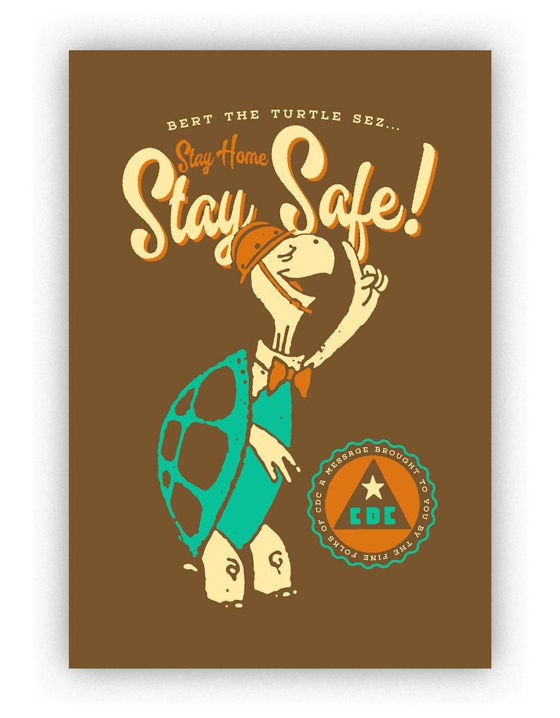 Stay Home Print image 0
