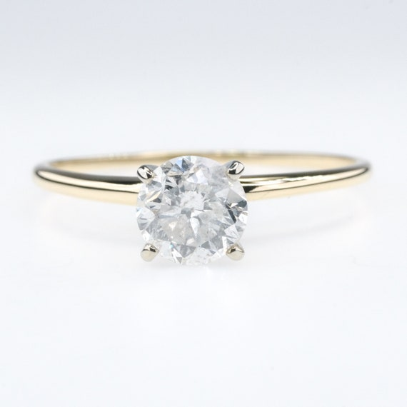 1.00Ct Round Cut Diamond Cresent Moon Charm Pendant 14K White Gold Finish