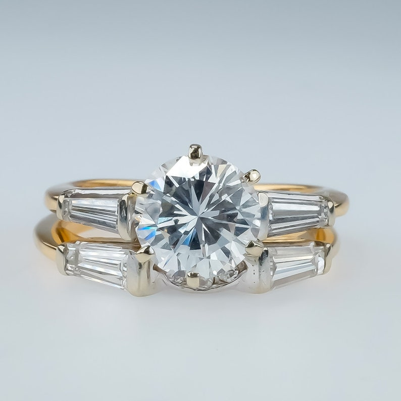 Fine Jewelry 0.32 Tcw Color D Clarity Vs2 Round Cut 14k White Gold Diamond Bangle Bracelet