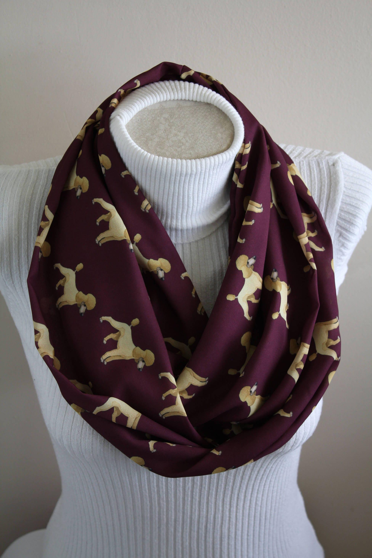 Pudel Schal Hund Infinity Pudel Geschenke für Hund | Etsy