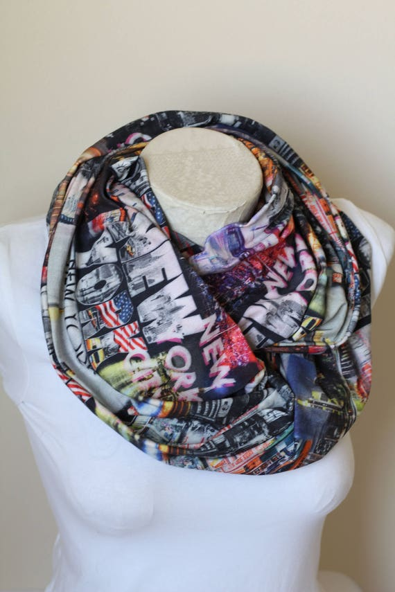 New York Scarf Nyc Gift Ideas Women Birthday
