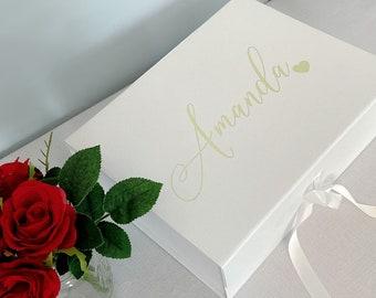 Bridesmaid Proposal Box   Personalized Bridesmaid Box   Will You Be My Bridesmaid Box   Day Of Gift Box   Baby Memory Box   Personalized