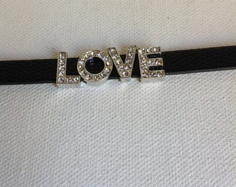Watch Band LOVE RHINESTONE Bracelet
