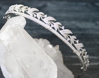 Bridal Tiara LADY VIOLET Tiara Royal Bridal Crystal Wedding Crown Rhinestone Tiara Wedding Tiara Diamante Crown,Swarovski Crystal Tiara