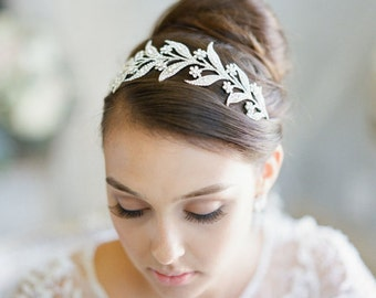 Bridal Tiara -  Lady MARY, Swarovski Bridal Tiara, Downton Abbey Tiara, Wedding Tiara, Bridal Crown, Lady of the Manor Headpiece