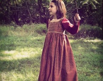 Girls renaissance dress 370379629df4