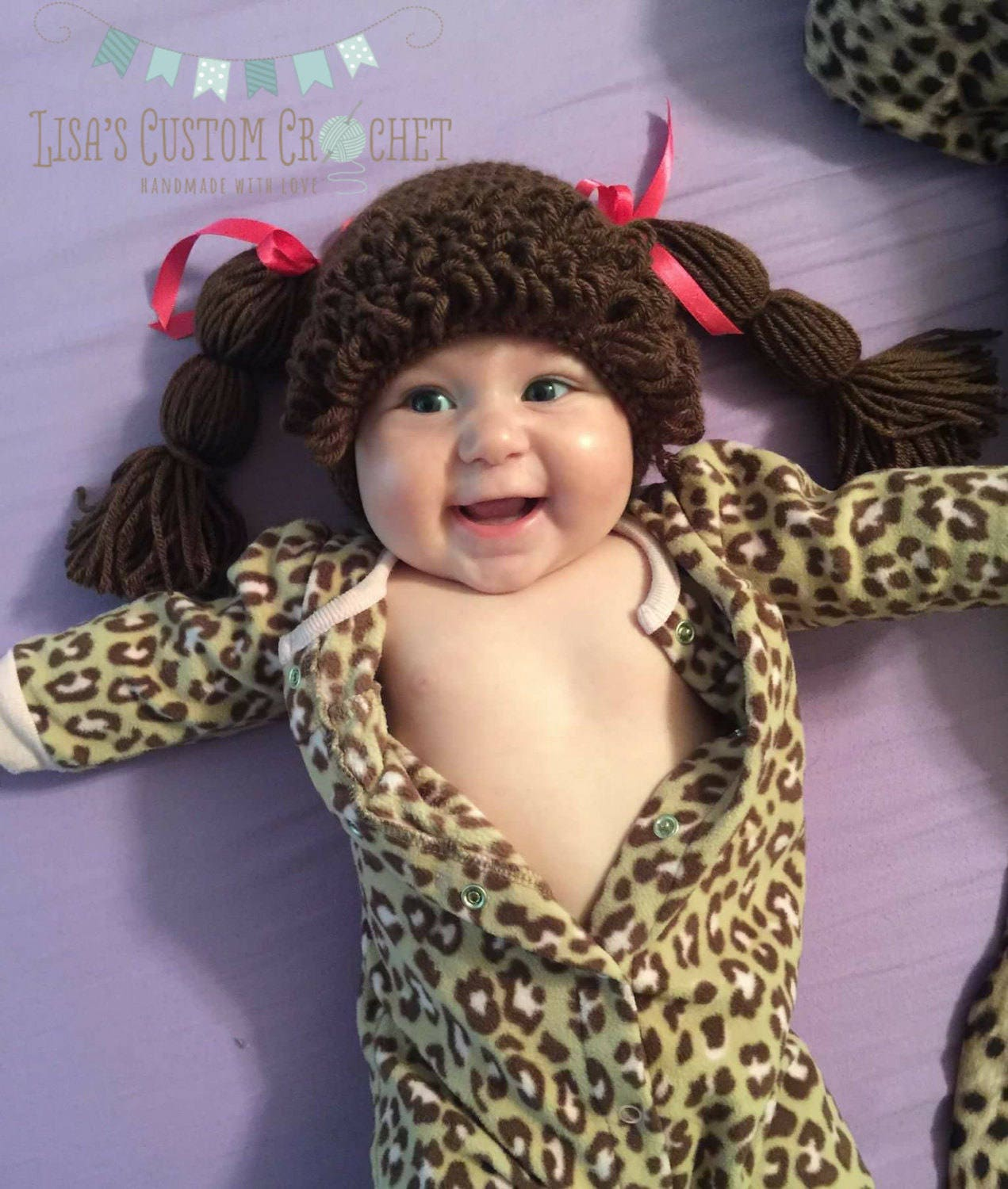 Cabbage Patch Hat Etsy