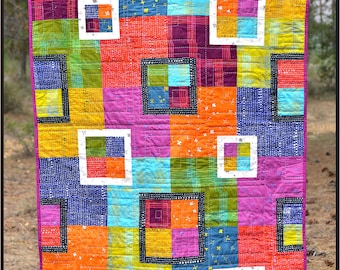 The Flora Quilt PDF Pattern