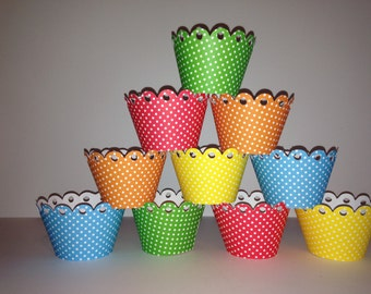 Lots of Dots Cupcake Wrappers