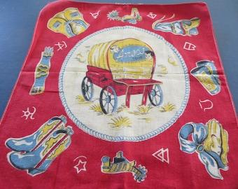 1950's Amsco Handkerchief