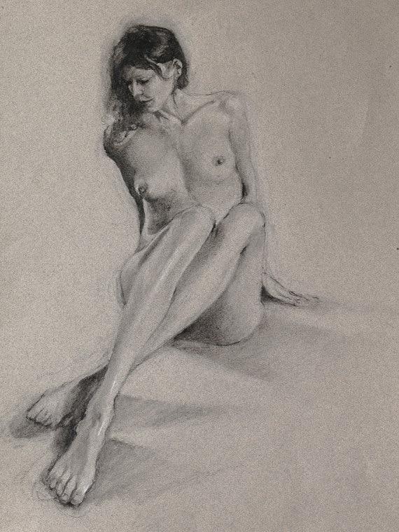 nude-black-women-drawings