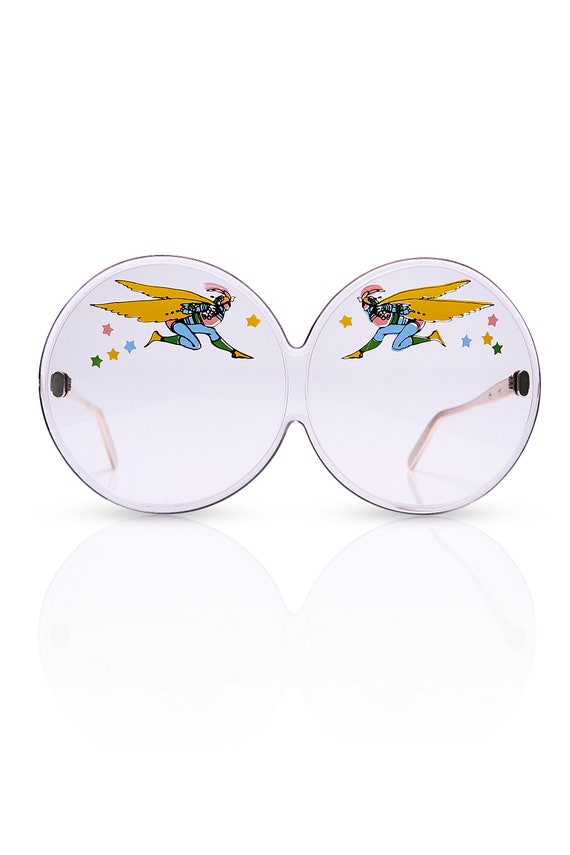 vintage 60's PETER MAX for TURA huge sunglasses /