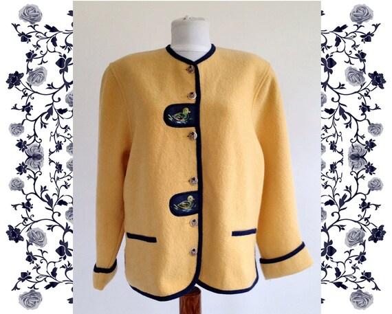 "Vintage Deadstock NOS  ""Litza Bavarian""  Jacket"