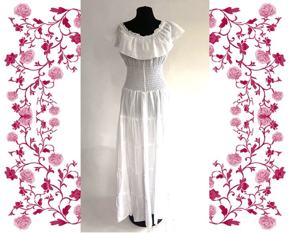 1970's Vintage Embroidered Dress - image 7