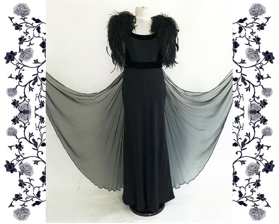 "Haute Couture  ""Odicini Couture""  Vintage Dress"