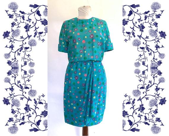 "Designer ""AKRIS""  Vintage Dress"