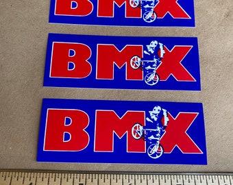 BMX sticker decal (set of 3)