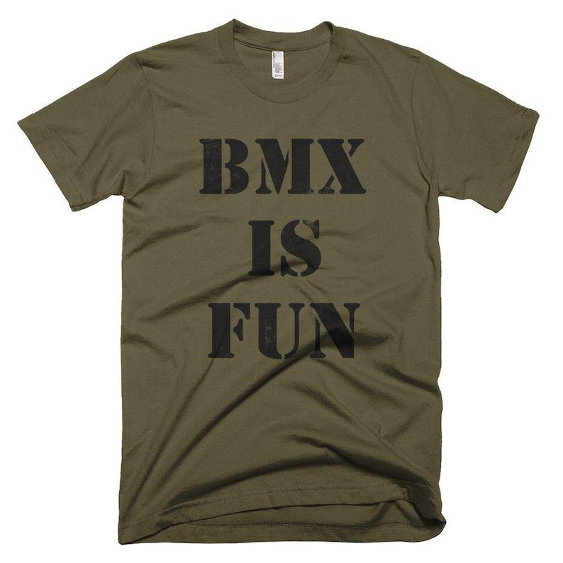 BMX IS FUN t-shirt image 0