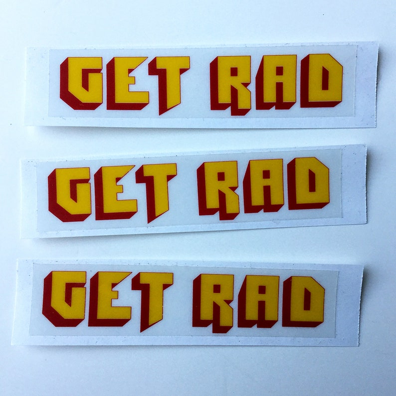 GET RAD sticker pack image 0